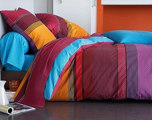 Becquet - Funda de almohada o cojín cilíndrico estilo indio ...
