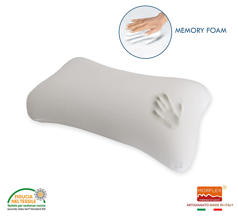 Coin Cuscini.Morflex Materassi Cuscini Memory Foam Ortho Bone Cervical Pillow