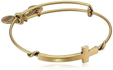 cdb181aa3ce90 Alex and Ani Spiritual Armour Cross Expandable Wire Bangle Bracelet, 7.75