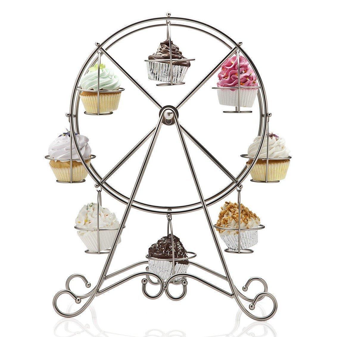 Amazon Home X Rotating Ferris Wheel Cupcake And Dessert Server