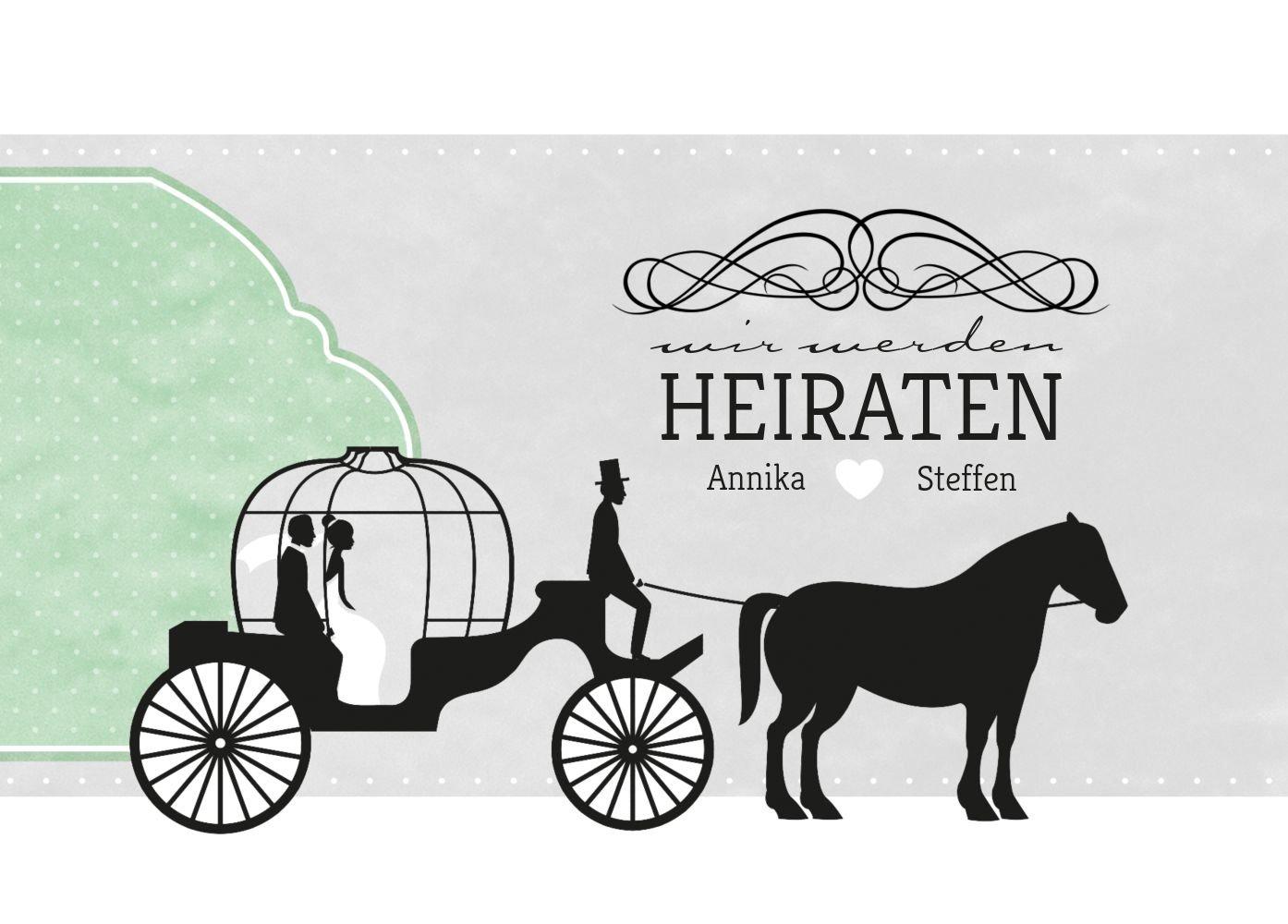 Save-the-Date Kutsche, 30 Karten, Karten, Karten, HellRosa B07B6NM8FB | Angenehmes Aussehen  | Qualität und Verbraucher an erster Stelle  | Moderne Muster  b18479