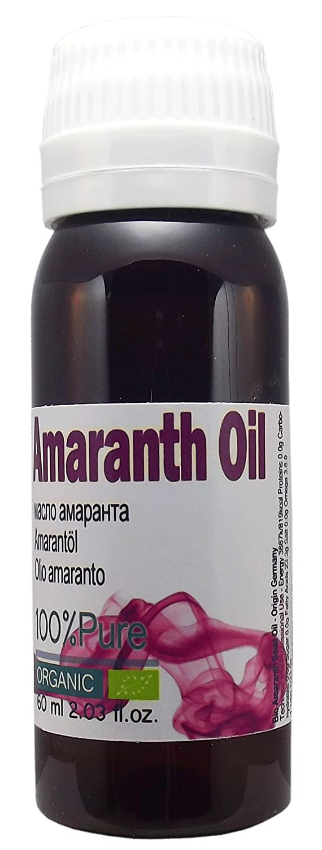 Huile d'Amarante - Bio Organic 100% pure, Super grande bouteille 60ml / 2,02 onces, pressée à froid, extra vierge, Premium année, pur non dilué sans autres huiles ajoutés, Expédié d'Espagne Expédié d' Espagne Patagonian