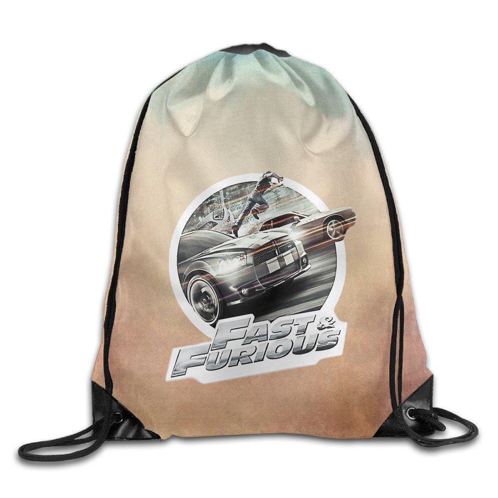 Boomy Fashion Fast & Furious Car Drawstring Bags For Men & Women Outdoor Gym Beach Hiking Use