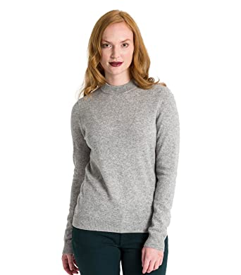 92f8dc46b Womens Cashmere Merino Turtle Neck Fine Knit Roll Neck Long Sleeve Sweater  Top Knitted Jumper: Amazon.co.uk: Clothing