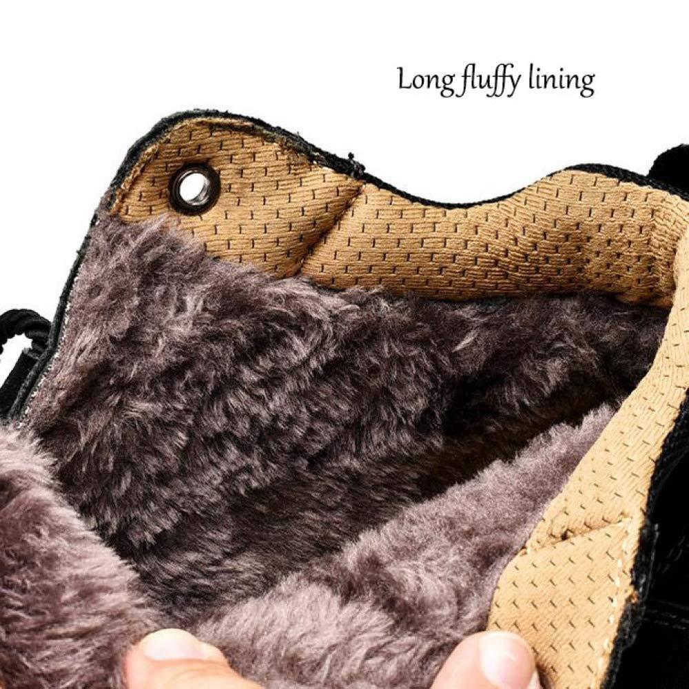 Stiefel Herren Winter Warme Warme Warme Stiefeletten High-Top Männerschuhe Knöchel Gute Qualität Leder Wasserdicht Größe  38-45 dc2adb