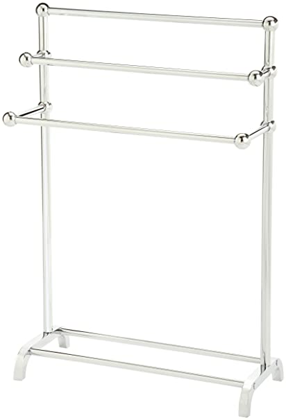 floor towel rack. Taymor 01-1085 3-Tier Floor Towel Valet, Chrome Floor Towel Rack N