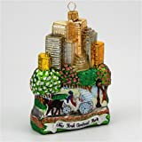 New York City Central Park Polish Glass Christmas Ornament NYC Tree Decoration