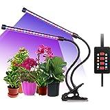 pflanzenlampe 10w pflanzenlicht wachstumslampe longko 3 modi mit 360 flexiblem schwanenhals f r. Black Bedroom Furniture Sets. Home Design Ideas