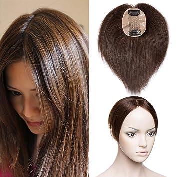 dauerhafte Modellierung Bestbewerteter Rabatt heiß-verkaufende Mode TESS Pony Haarteil Clip in Extensions Echthaar Toupee Haarverlängerung Lace  Front Closure Toupet für Frauen 10