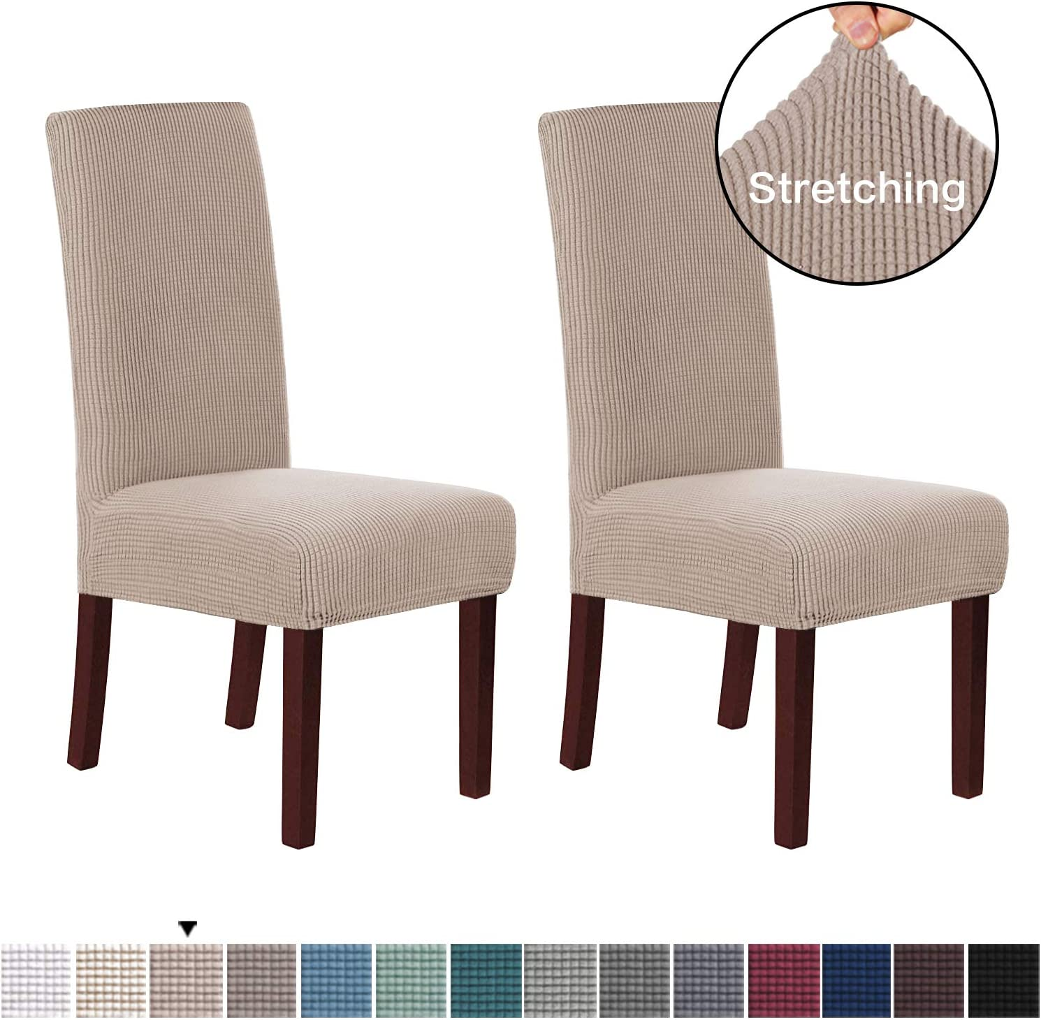 Stretch Dining Chair Covers Chair Covers for Dining Room Set of 10 Parson  Chair Covers Slipcovers Chair Protectors Covers Dining, Feature Spandex