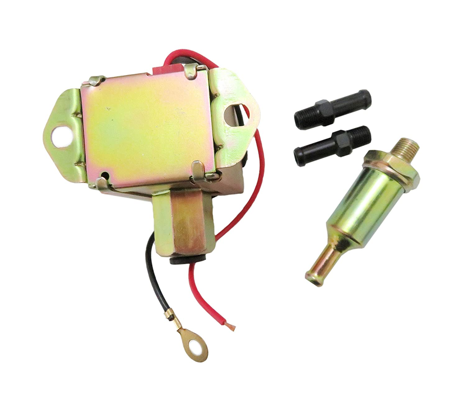 Electric Fuel Pump With 12 Volt 2-4 PSI Low Pressure 12V Universal New
