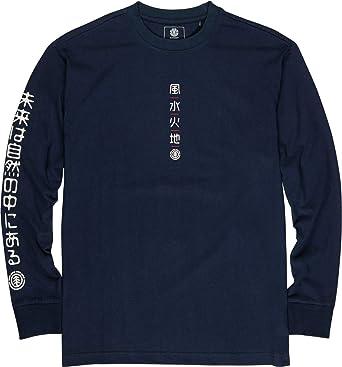 Element Primo Tokyo Takashi - Camiseta de Manga Larga para Hombre S1LSB3ELP0: Amazon.es: Ropa y accesorios