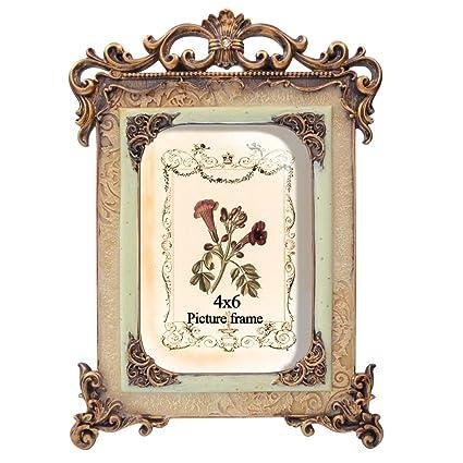 6edf8975c13d Essentials 4x6 Photo Frame European Royal Vintage Frames: Amazon.co.uk:  Kitchen & Home