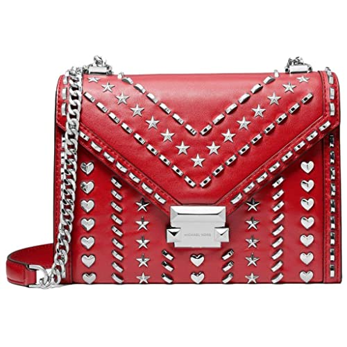 9bd419675e6f Whitney Large Studded Leather Convertible Shoulder Bag: Amazon.co.uk: Shoes  & Bags