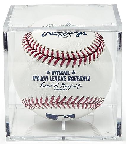 e8904960628 Amazon.com   BallQube Grandstand Baseball Holder Acrylic Display ...