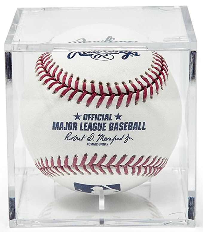 Official Website High Quality 9 Baseball Glass Display Case For Autographed Balls Little League A Wide Selection Of Colours And Designs Display Cases