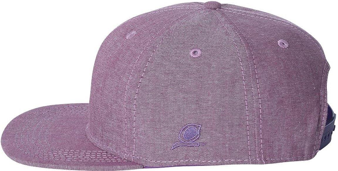Amazon.com  Original Chuck Chambray Flat Bill Snapback Cap. 26723 - One  Size - Purple  Clothing e6ebc7ea101