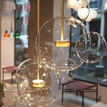 Postmodernen Skandinavischen Glas Lampen Italienische Designer Kreative  Seifenblase Lampen Wohnzimmer Esszimmer Pendelleuchten,Warmes Licht,