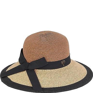 14a430cf Sun 'N' Sand Paper Braid Hat - Brown -: Amazon.co.uk: Clothing