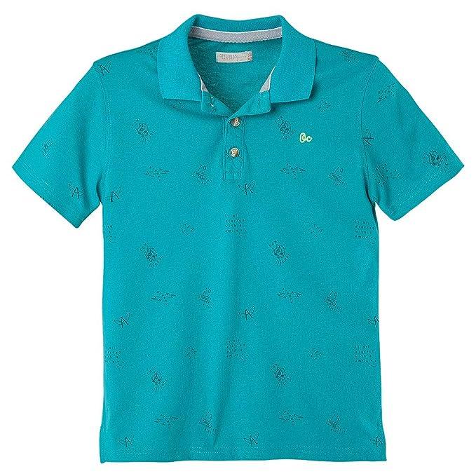 OFFCORSS Cotton Polo Shirts for Teen Boys Camisetas Tipo Polo para Niños  Green 4 2de3496c13678