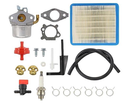 Filtro de aire y bujía para carburador Carb Válvula de manguera de ...