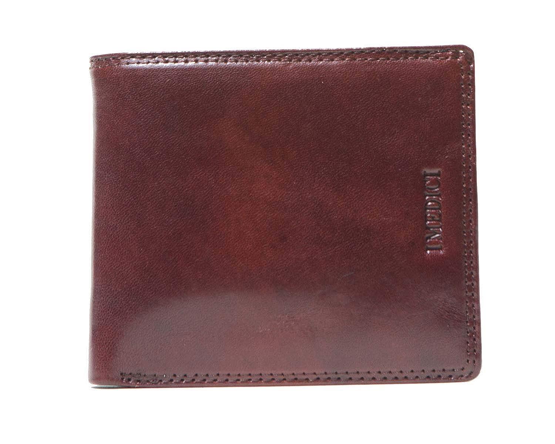 ID Window I Medici Bifold Credit Card Wallet for Men