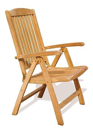 Tewkesbury Garden Reclining Chair - Sustainable Teak Garden Recliner Chair  - Jati Brand, Quality &