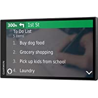 """$199 » Garmin DriveSmart 65 with Amazon Alexa, Built-In Voice-Controlled GPS Navigator with 6.95"""" High…"""
