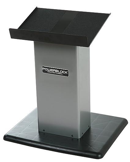 Powerblock Personal Juego de Soporte, Unisex, Personal Stand Silver, Plata, Small
