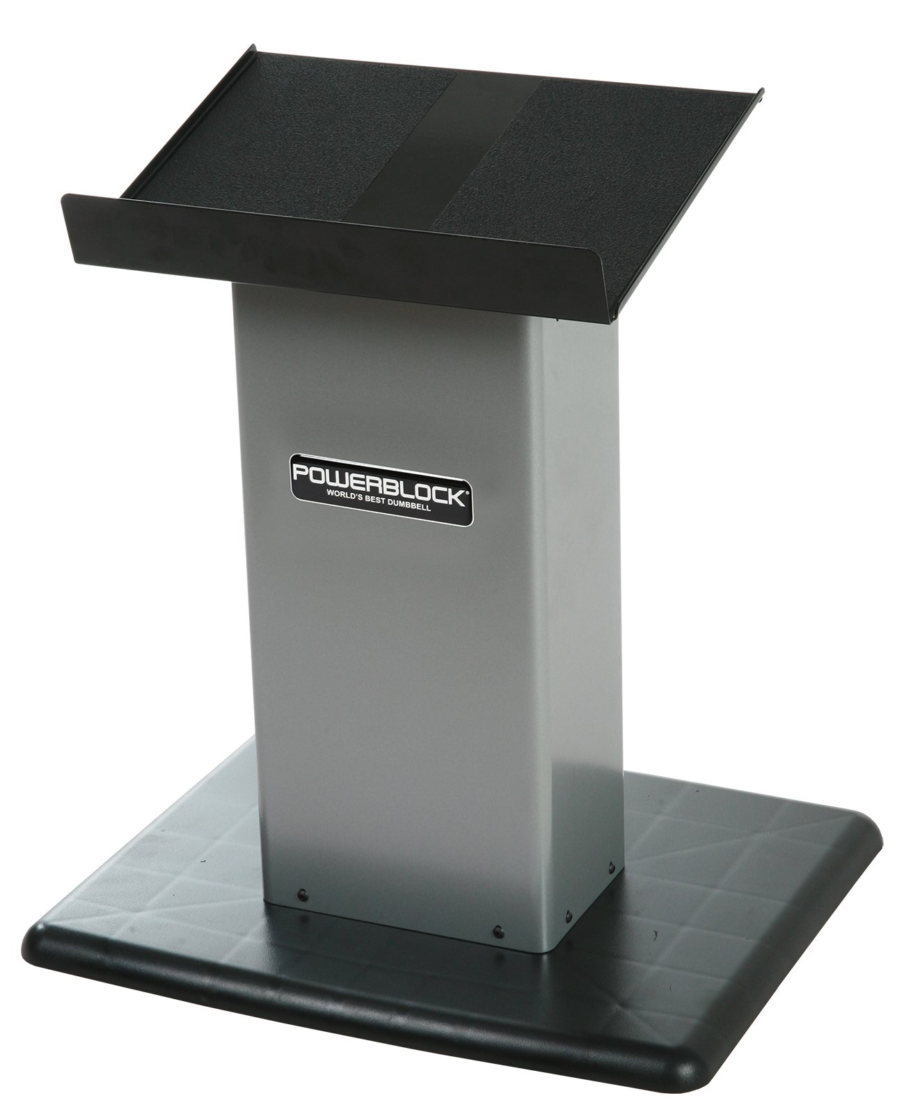 POWERBLOCK Small Column Stand (Silver) by POWERBLOCK (Image #1)