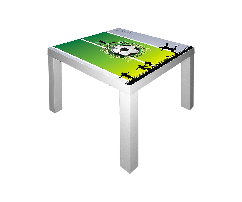 Stikkipix Fußball Möbelsticker/Aufkleber für den Tisch LACK von IKEA - IM47 - Möbel Nicht Inklusive