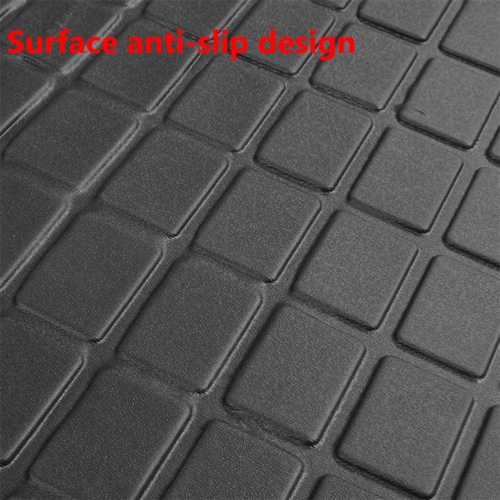 gaeruite Rubber Car Boot Liner Mat Waterproof Car Rear Trunk Storage Mat Rubber Boot Liner Tray Mat Rubber Boot Mat for Tesla Model 3