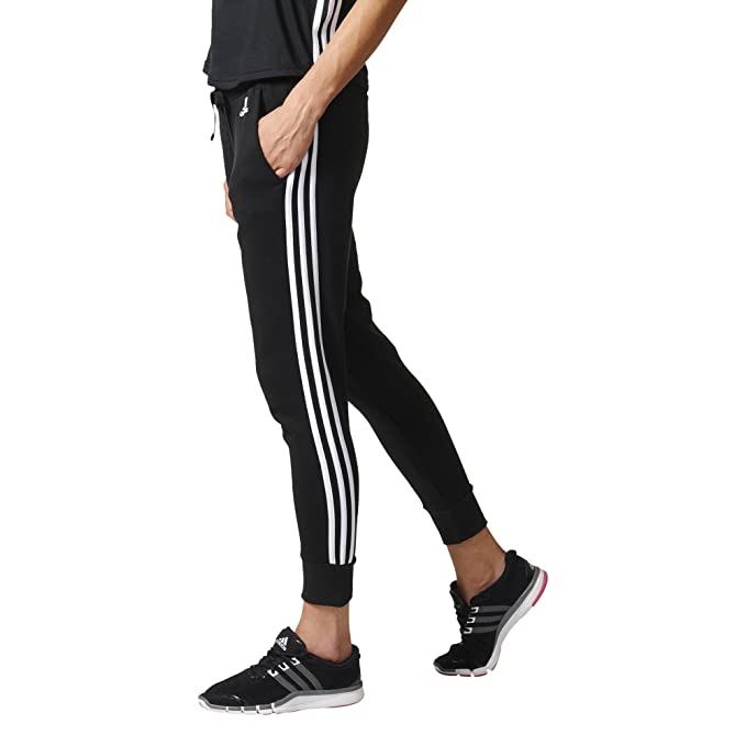 adidas ESS 3S Tap PT Pantalón de Chándal, Mujer, Negro (Negro ...