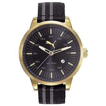 c38204db9 Puma Casual Watch For Men Analog Fabric - PU103641009U: Amazon.ae ...