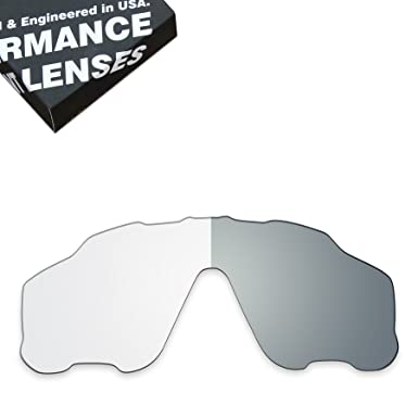01238129b8 Image Unavailable. Image not available for. Color  ToughAsNails Lens  Replacement for Oakley Jawbreaker Sunglass - Photochromic Clear