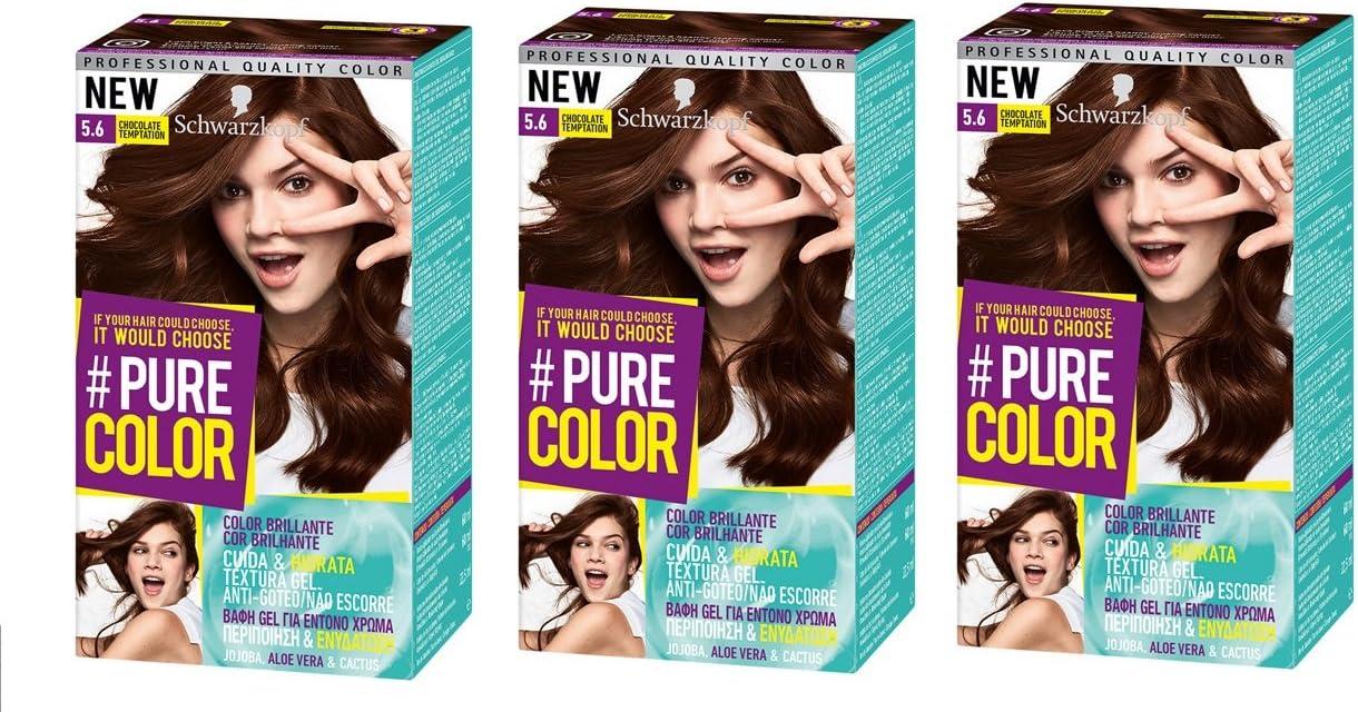 Schwarzkopf Pure Color Tinte Permanente 5.6 Chocolate Temptation
