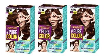 Schwarzkopf Pure Color Permanent Gel Färbung No 56 Schokolade
