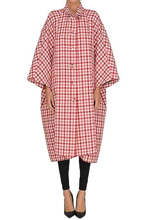 8b191db253432 Amazon.com  Balenciaga Women s Mcglcsc000005000e Red Wool Coat  Clothing