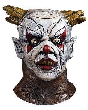 Horror-Shop Aguafiestas máscara de payaso de lujo