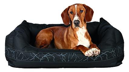 Trixie Sharky perro cama, 60 x 50 cm), color negro