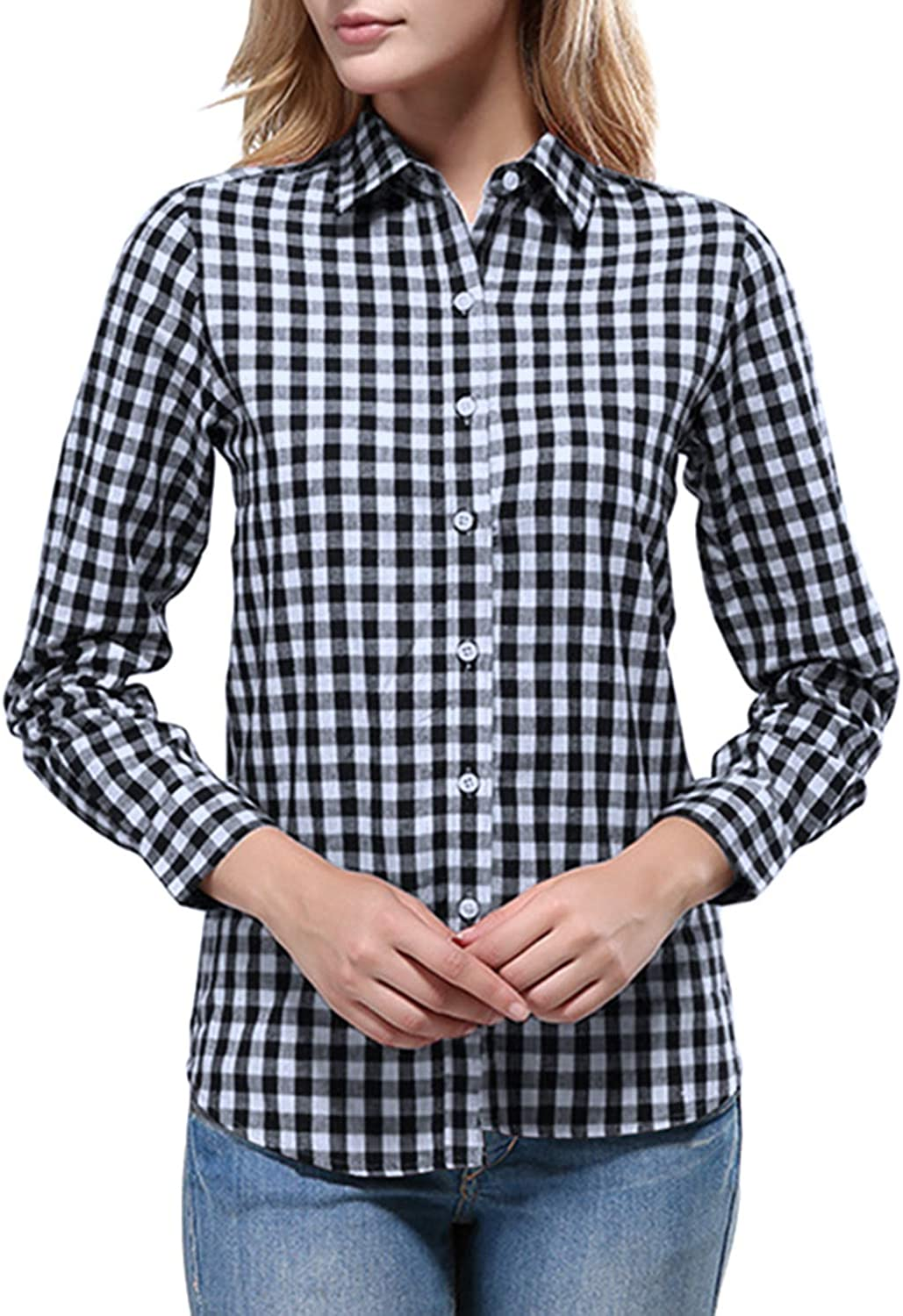 """1//6 Red White Plaid Long Sleeves Shirt Jeans For 12/"""" Male Figure SHIP FROM USA"""