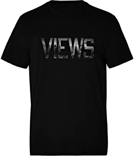 Men's Views Hoodie Music Hoody Slogan Jumper Urban Hip Hop Pullover Sweater Gift For Him KOYPrE0WI