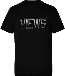 Men's Views Hoodie Music Hoody Slogan Jumper Urban Hip Hop Pullover Sweater Gift For Him