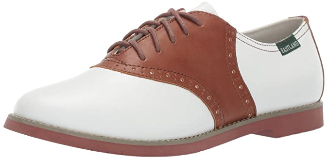 Retro Vintage Flats and Low Heel Shoes Eastland Womens Sadie Oxford $85.00 AT vintagedancer.com