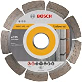 Bosch 2 608 602 192  - Disco tronzador de diamante Standard for Universal - 125 x 22,23 x 1,6 x 10 mm (pack de 1)