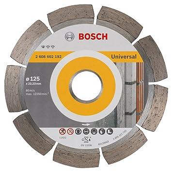 5b8054112a6d75 Bosch 2608602192 Disque à tronçonner diamanté standard for universal 125 x  22,23 x 1