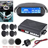 Universal Full Digital Distance LCD Display Car Monitor Parking Sensor Kit Auto Radar Detector 4 Sensors