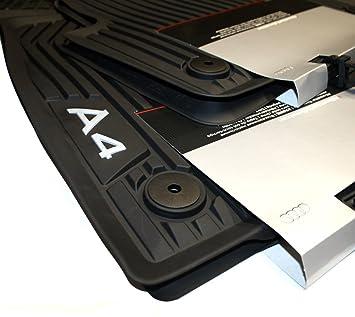 Genuine Audi A B W Floor Mats Rubber Premium Rubber Mats All - Audi a4 car mats