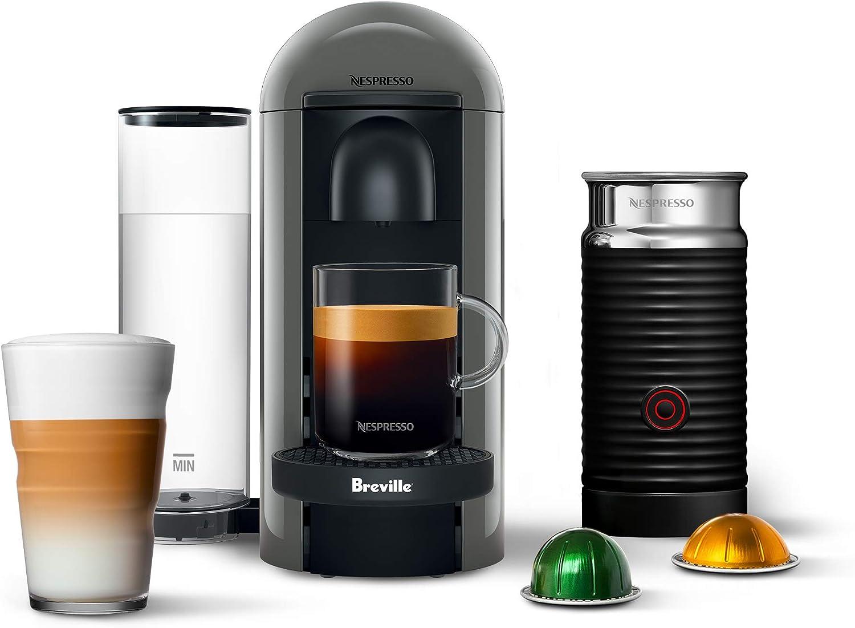 Breville BNV450GRY1BUC1 VertuoPlus - Cafetera y cafetera expreso, color gris: Amazon.es: Hogar