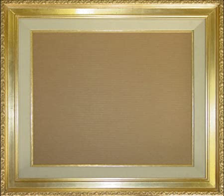 Museum Quality Wood Frame for Canvas Painting, Open Back Frame ...